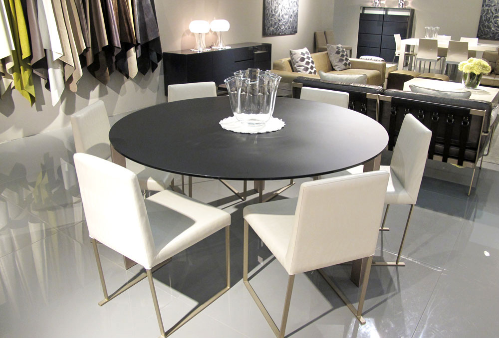 ROUND-DINING-TABLE-OCCHIO-1500MM-MOCHA-SATINATO-GLASS-CHAMPAGNE-GOLD-LEG-7716