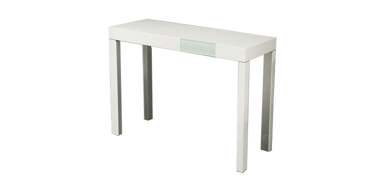 glossy-white-console-table