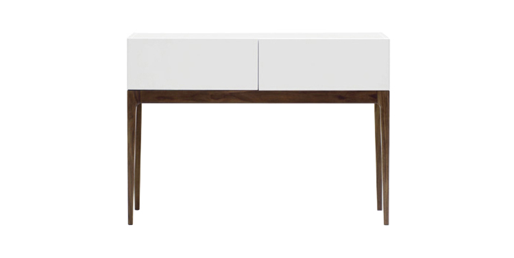 Modern console tables dining table for White and glass console table