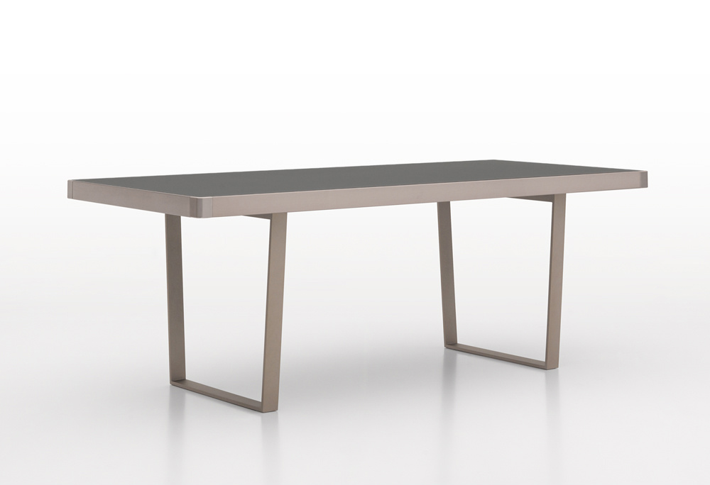Aster Slide Glass Dining Table