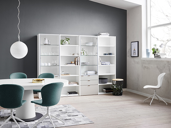 BoConcept Copenhagen system dining table