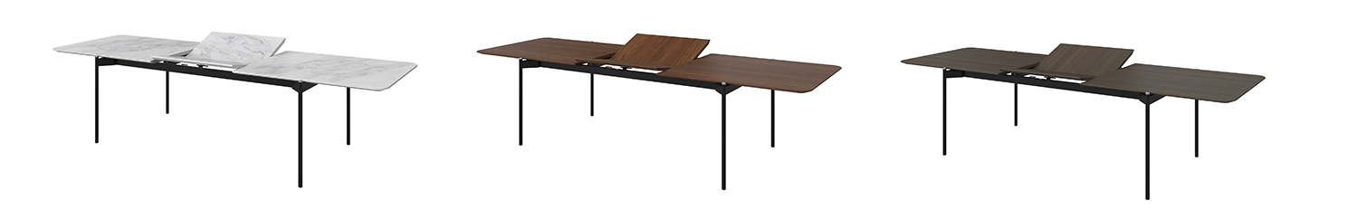augusta extendable dining table