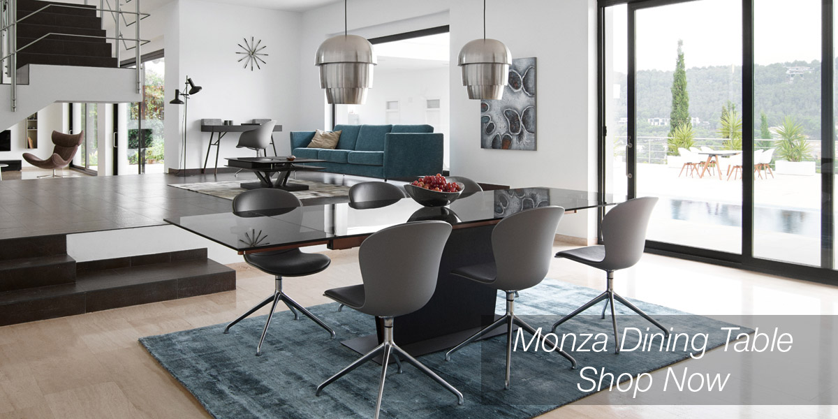 Monza extendable dining table