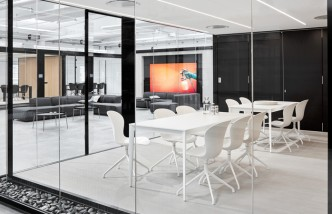 Torino White Conference Table - BoConcept Sydney