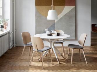 Billund modern round dining table