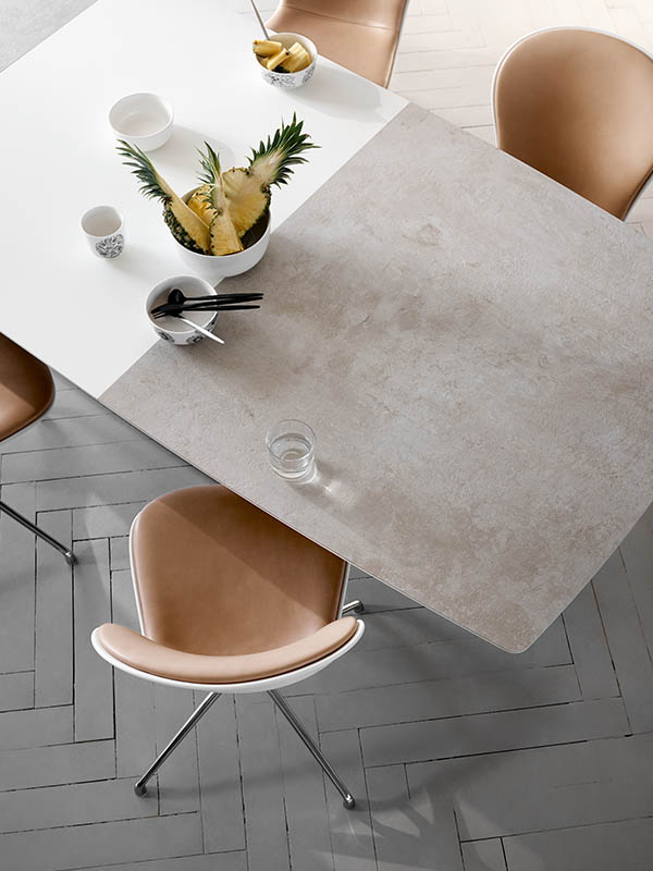 Milano ceramic dining table