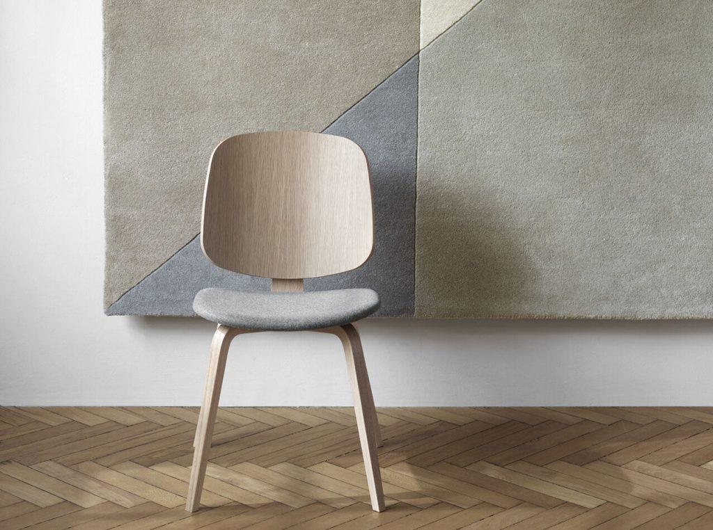 aarhus oak dining chair