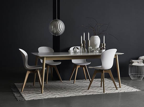 Milano Scandinavian dining table