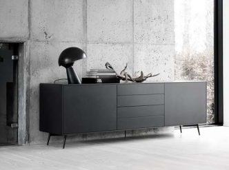 Fermo - modern black sideboard Sydney
