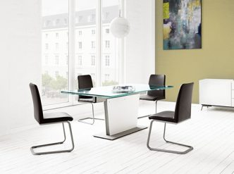 Lausanne - black designer dining chairs Sydney