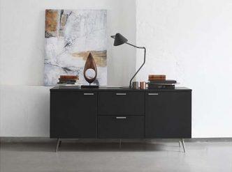 Milano - designer black sideboard Sydney