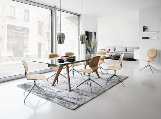Monza - modern extendable dining table Sydney