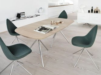Ottawa - green designer dining chairs Sydney