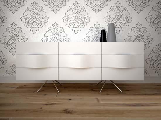 Ottawa - white modern sideboard Sydney