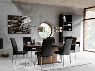 Milano Walnut Dining Table
