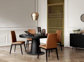 Granada round dining table