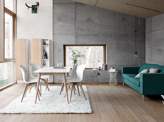 Milano Scandinavian dining table sydney
