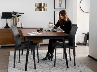 milano black dining table Sydney