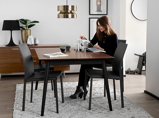 milano black dining table Sydney