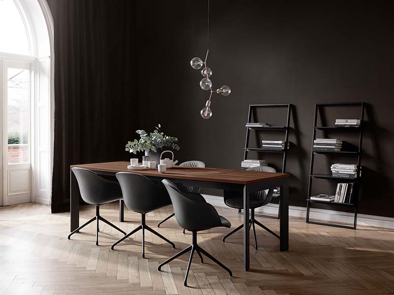 black dining table sydney