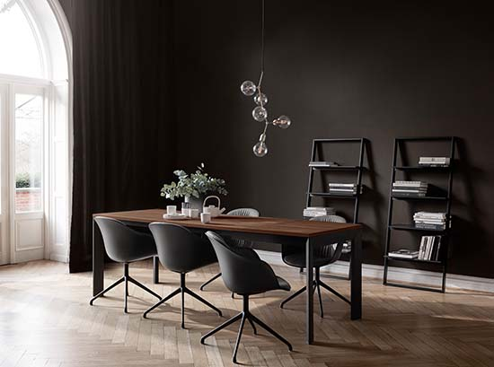 lyon dining table by boconcept dining tables. Black Bedroom Furniture Sets. Home Design Ideas