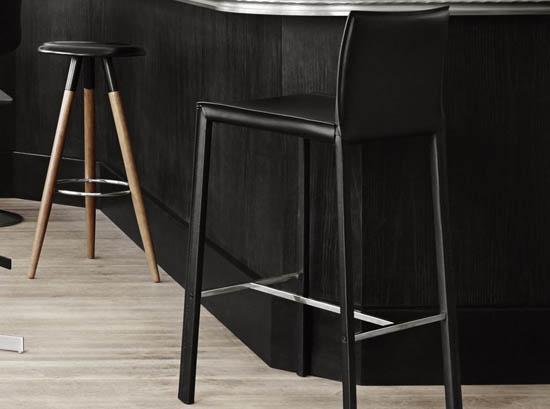 zarra modern bar stool