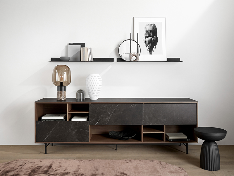Manhattan veneer and ceramic sideboard sydney