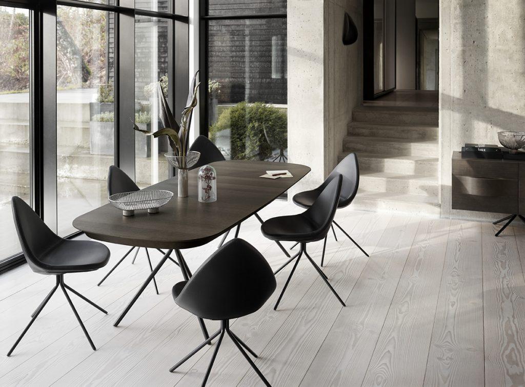 Ottawa dining table espresso oak