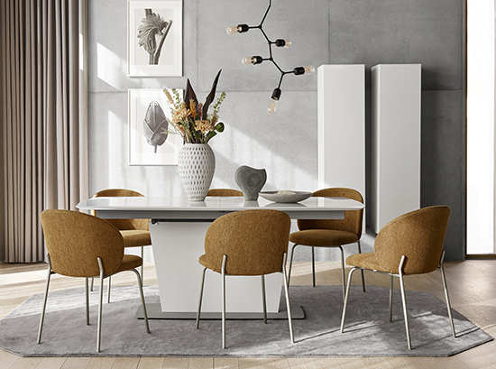 milano extendable dining table sydney
