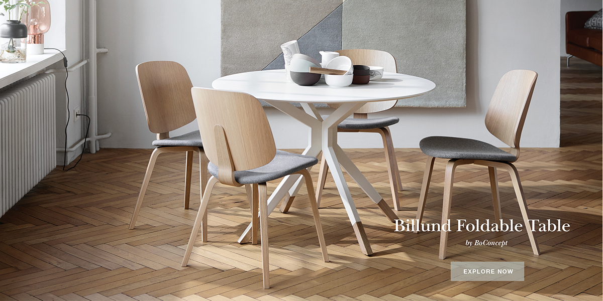 Billund round dining table